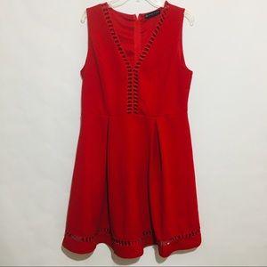 Fashion To Figure Red Dress Size 1X